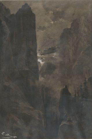 Robur-le-Conquérant de Jules Verne, La Traversée des montagnes Rocheuses