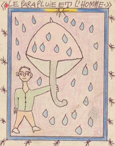 Le Parapluie et l'homme