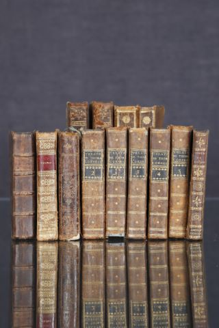 13 ouvrages du XVIIIe siècle ou du début du XIXe siècle