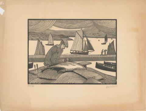 3 gravures sur bois de la série Petite histoire bretonne
