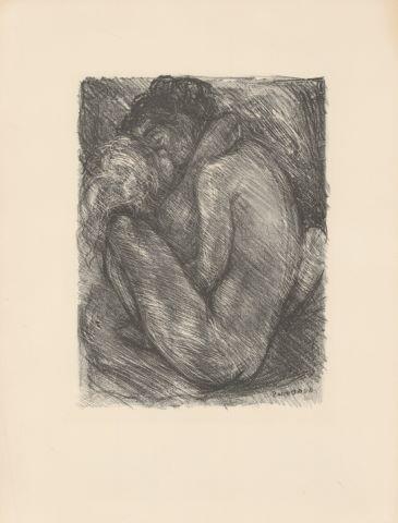 25 lithographies accompagnant 25 poèmes des Fleurs du mal de Baudelaire
