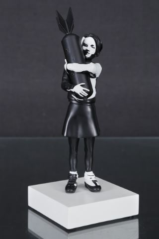 Bomb Hugger black & white