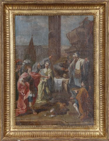 Polyxène sacrifiée aux mains d'Achille