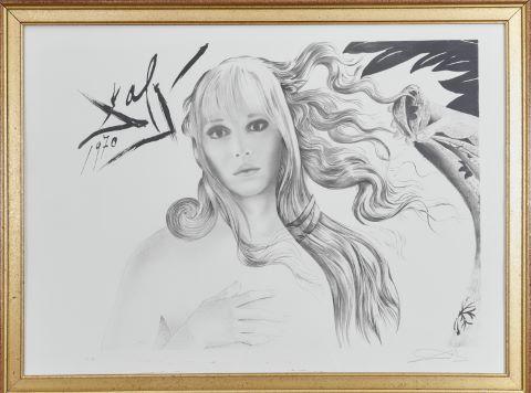 Portrait d'Amanda Lear