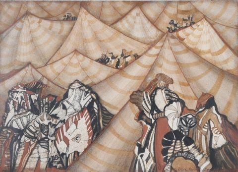 Les Tentes, le voyage de Marco Polo