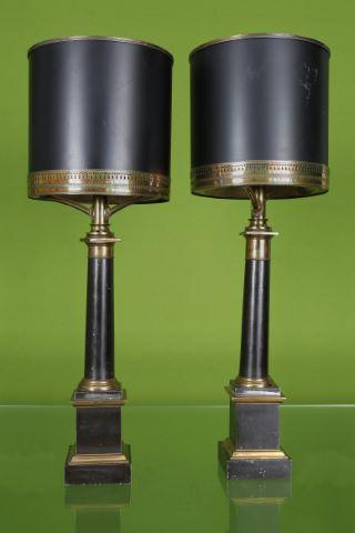 Paire de lampes Colonnes