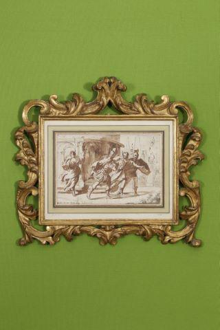 Renaud fuyant le palais d'Armide avec Carlo et Ubaldo