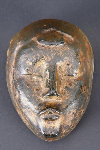 Dessin + masque en verre