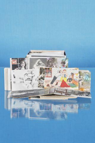 Ensemble de cartes postales