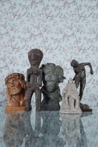 Ensemble de 5 sculptures