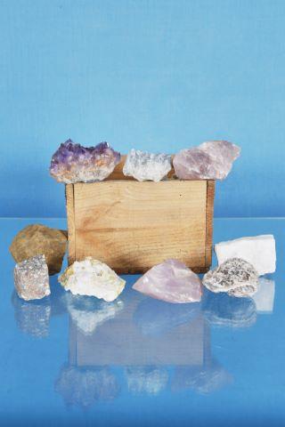 Ensemble de minéraux [environ 40]