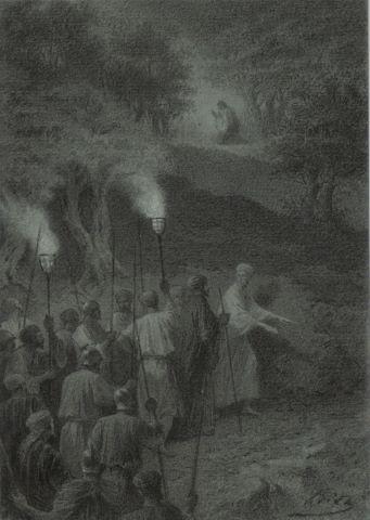 Judas guide les soldats
