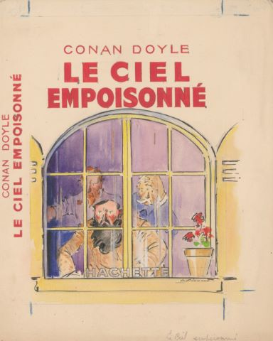 Le Ciel empoisonné de Conan Doyle, maquette de couverture
