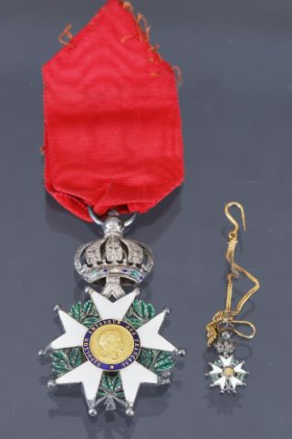 France, ordre de la légion d'honneur, fondé en 1802 - Second Empire