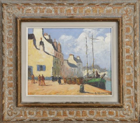 Scène de port au Palais, Belle-Île-en-Mer