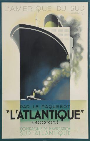 L'Amérique du Sud par le paquebot L'Atlantique (1931)