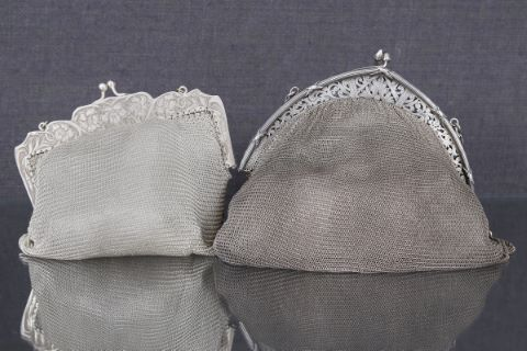 2 sacs cotte de mailles