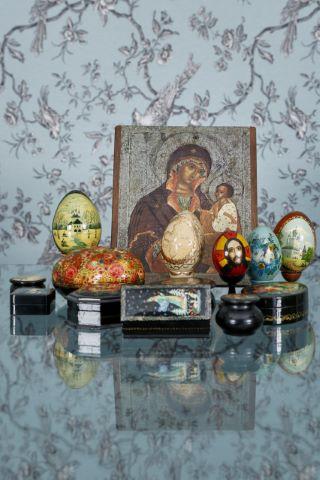 Ensemble d'objets décoratifs [13 pièces]
