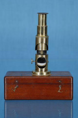 Microscope de voyage pour entomologiste