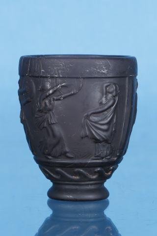 Vase ovoïde sur piédouche