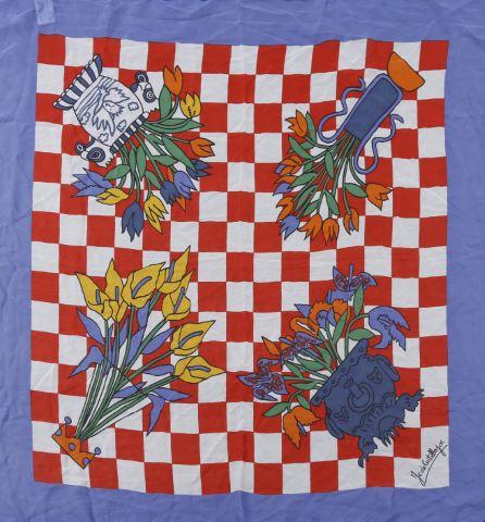 2 foulards en soie