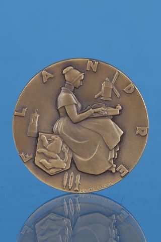 Médaille pour le paquebot Flandre