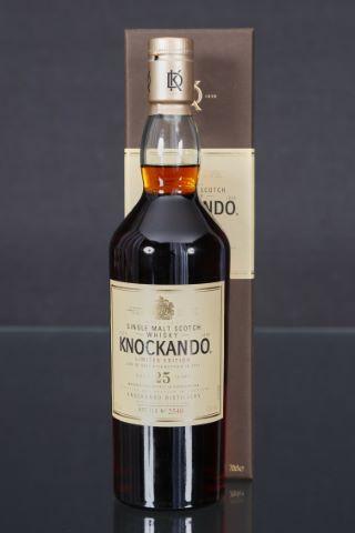 1 bouteille, 25 ans d'âge
