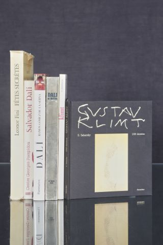 6 ouvrages sur Dali, Gustav Klimt et Léonor Fini