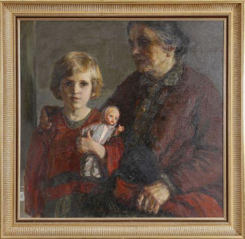 La Grand-mère et sa petite-fille