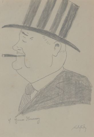 Portrait de James Hennessy