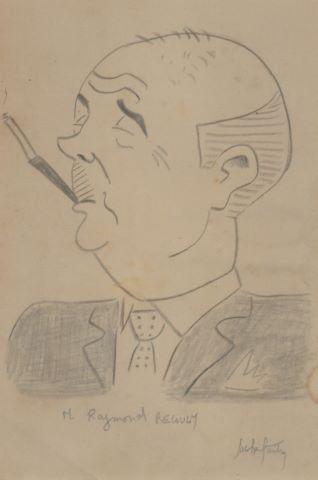 Portrait de Raymond Recoulm