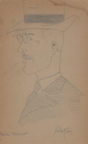 Portrait de Maurice Tillement