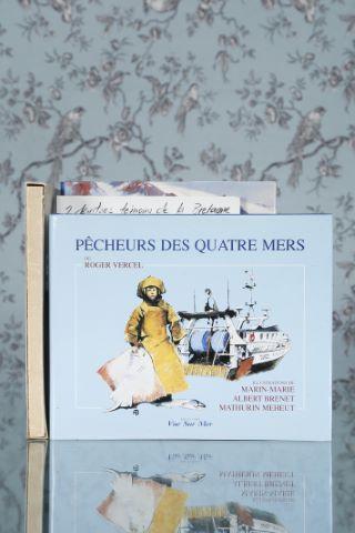6 ouvrages illustrés sur les peintres de la marine et peintres bretons et la montagne