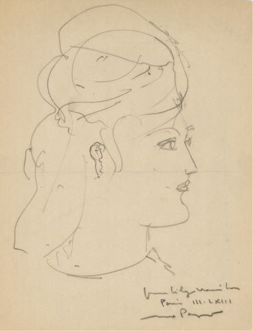 Portrait de la galeriste Lily Mariton (Galerie da Silva, Marseille)
