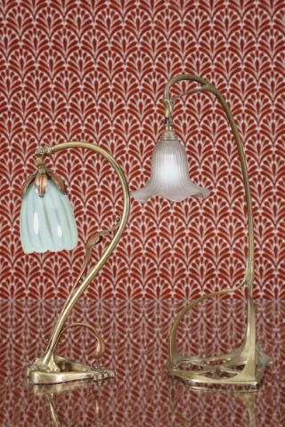 2 lampes de bureau