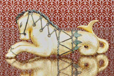 Hippocampe et sphinge