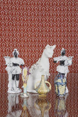 Ensemble de 6 objets en céramique