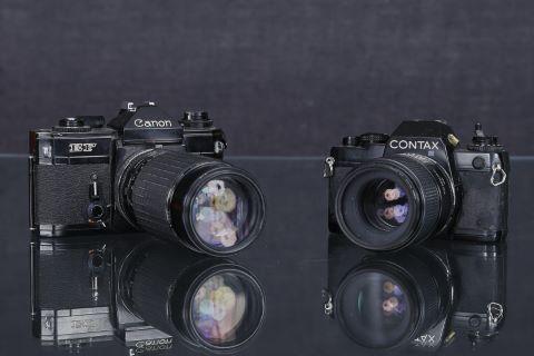 2 appareils photos