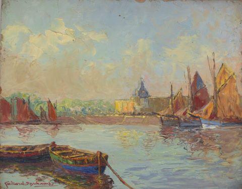 Les Quais à Concarneau & Le Retour des pêcheurs [2 œuvres]