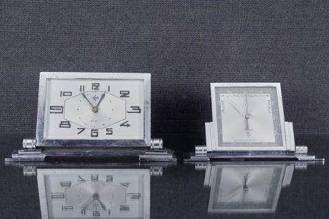 Baromètre et pendule de bureau