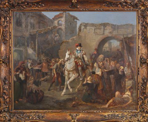 L'Entrée d'Henri IV dans Paris le 22 mars 1594
