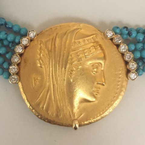 (Numismatique) Collier