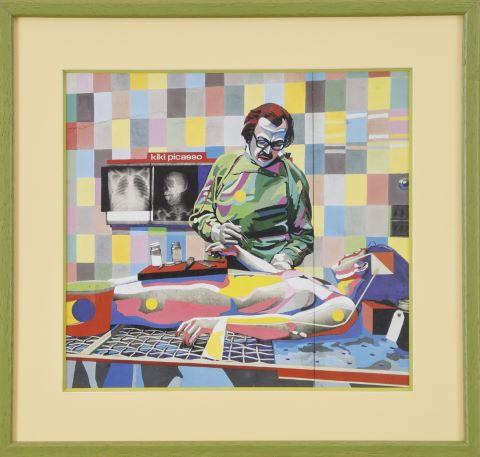 Autopsie d'un grand peintre par le Dr. Chapiron