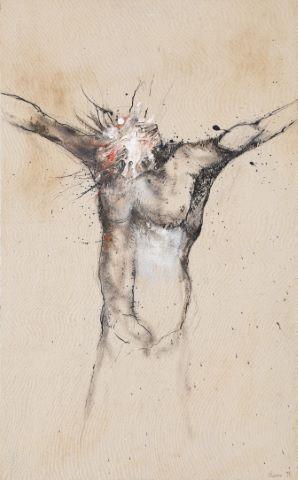 Étude de crucifixion