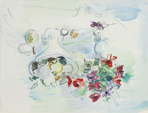 Nature morte au bouquet de fleurs