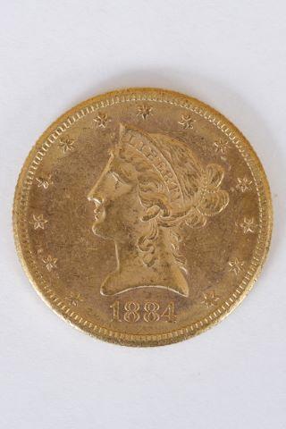 1 pièce 10 dollars Liberty
