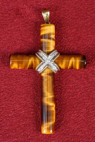 1 pendentif crucifix