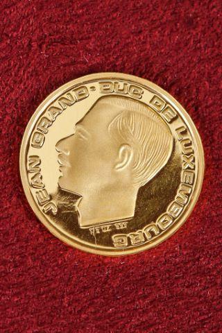 1 pièce de 20 francs luxembourgeois commémorative