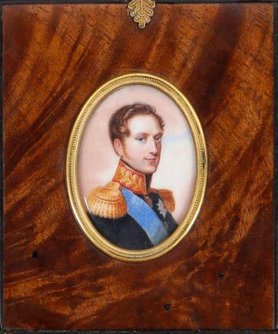 Portrait du tsar Nicolas Ier jeune
