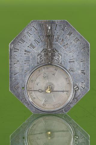 """Cadran solaire équatorial de type """"Butterfield"""""""